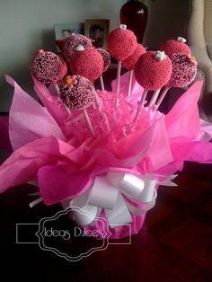 barbie cake ideas | Arreglo de Galletas y Cake Pops para el cumple de Mafe