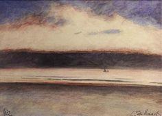 Seascape, 1932, Leon Spilliaert. Belgian (1881 - 1946)