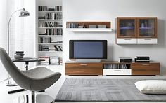 Baldų kolekcijos :: Combi baldai.....I would love love this entertainment unit. Actually just give me the whole room