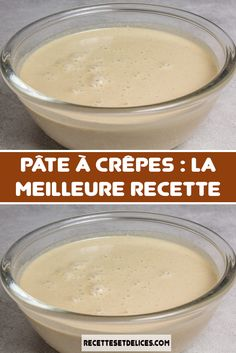 Pancake batter: the best recipe - All Recipes - Recette - coffee Recipes Coffee Recipes, Brunch Recipes, Sweet Recipes, Breakfast Recipes, Snack Recipes, Dessert Recipes, Cooking Recipes, Mango Pudding, Chia Pudding