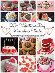 Couponing & Cooking: 25+ Valentine's Day Desserts & Treats