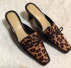 Lizflex Kalamazoo Leopard Animal Fur Kitten Heels   Size 8 M   Comfort Slides  $20    http://www.ebay.com/itm/Lizflex-Kalamazoo-Leopard-Animal-Fur-Kitten-Heels-Size-8-M-Comfort-Slides-/360666647943?pt=US_Women_s_Shoes=item53f9684d87