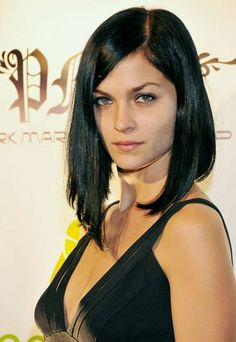 long bob hairstyles | long bob hairstyles - picture of trendy long black bob hairstyle ...
