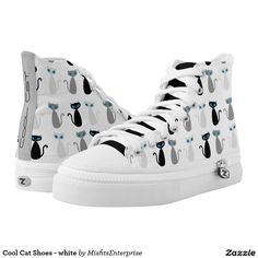 Cool Cat Shoes - white