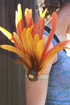Tahitian dance arm band costume you choose by islandcostumes