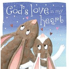 God's love is amazing. It's higher than the trees, more vibrant than a rainbow, bright enough to light up a dark sky—and so much more! In this sweet book, children will be reminded of how truly all-en
