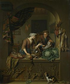 Kitchen Art Leiden.312 Best Painters Dutch Ter Borch Gerard Van Mieris The Elder