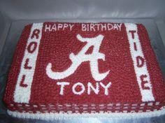 alabama birthday cakes