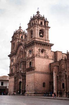 Igreja da Companhia de Jesus, Cusco. #Peru #Viagem