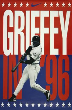 Ken Griffey Nike Ad  No doubt about it Ken Griffey was my favorite baseball player when I was a kid.