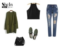 """""""Black Tank Top"""" by almaaa789 ❤ liked on Polyvore featuring Keds, MICHAEL Michael Kors, women's clothing, women's fashion, women, female, woman, misses and juniors"""