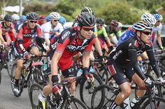 Elite men's road race Gallery: #CadelEvans looked comfortable in the bunch early on!