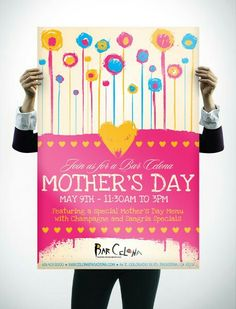 Online portfolio of poster design, ad design, print design and Mothers Day Poster, Mothers Day May, Mothers Day Brunch, Ad Design, Print Design, Graphic Design, Mother's Day Photos, Mom Day, Typography Logo
