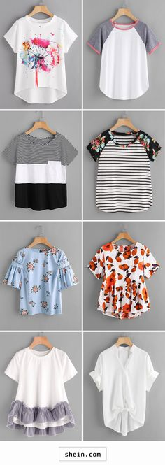 cheap tops start at 8 Trendy Outfits, Summer Outfits, Cute Outfits, Cheap Outfits, Look Fashion, Teen Fashion, Womens Fashion, Cheap Fashion, Mode Hippie