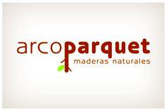 Juego del concepto natural y del color de la madera para una marca fabricante de parquet de madera natural. © 2012 Veintiocho Estudio Creativo.  #logotipo #logotype #veintiocho