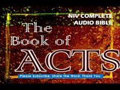 Acts Chapter 21 - NIV Complete Audio Bible