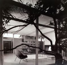 Don Knorr, Hilmer House, Atherton, California, 1956.