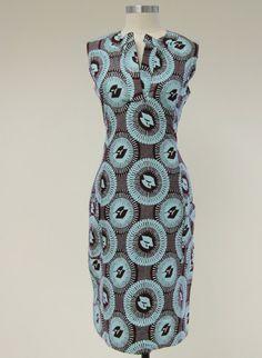 Ibis dress  ankara/lappa/wax african dress for women