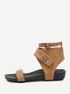Shop Open Toe Star Detail Sandals online. SheIn offers Open Toe Star Detail Sandals & more to fit your fashionable needs.