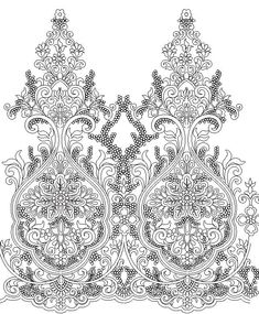 Paisley Art, Paisley Pattern, Textile Patterns, Embroidery Patterns, Computer Desks For Home, Design Research, Gold Embroidery, Black N White, Art Lessons