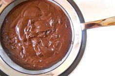 Roast hazelnuts fo 10 Puree hazelnuts for about 5 mins. Add 6 T unsweetened cocoa powder, c powdered sugar, and t vanilla. Puree 15 seconds then stream in c canola oil. Strain and store in a jar Dairy Free Nutella, Homemade Nutella Recipes, How To Roast Hazelnuts, Unsweetened Cocoa, Something Sweet, Junk Food, No Bake Desserts, Love Food, Food Hacks
