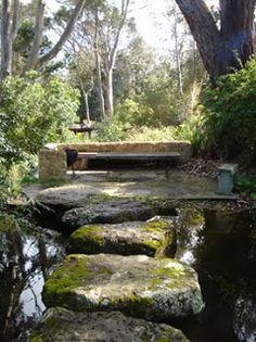 Gordon Ford gardens bring back memories of my childhood growing up in Eltham! Hmmmm, how can we achieve this? Love Garden, Dream Garden, Garden Ideas, Australian Native Garden, Cedar Creek, Native Plants, Garden Bridge, Beautiful Gardens, Landscape Design