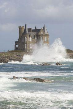 Turpault castle, Quiberon, Morbihan, Bretagne – France