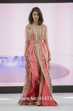 Top-Quality-Caftan-Marocain-Islamic-Abaya-in-Dubai-Evening-Dress-Pink-Long-Sleeve-Evening-Gowns-Moroccan (1)