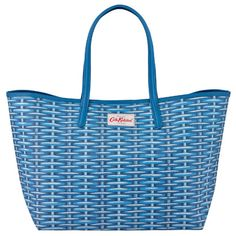 Wicker Large Leather Trim Tote Cath Kidston Bags, Wicker, Shoulder Bag, Tote Bag, My Style, Leather, Gifts, Shopping, Women