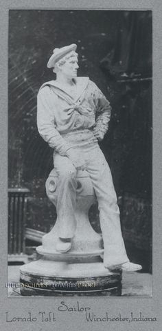"""Sailor (Winchester, IN), 9"""" x 4.5"""", 1889."""