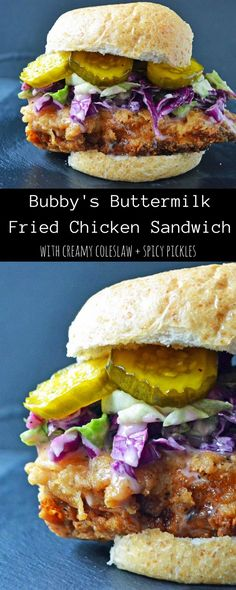 Chicken-Fried Chicken And Pickled Pepper Sandwiches Recipe ...