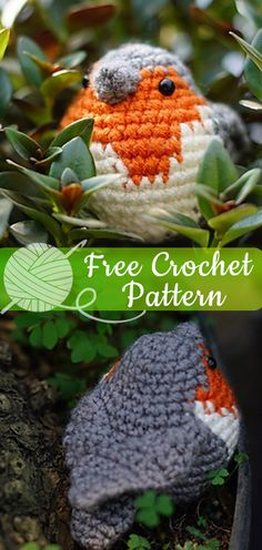 Crochet Diy Hello friends, for you who loves crochet amigurumi, today I will show the pattern of this beautiful bird. I hope you have enjoyed this beautiful crochet, the free pattern is HERE so … Crochet Bird Patterns, Crochet Gratis, Crochet Birds, Crochet Amigurumi Free Patterns, Knitting Patterns, Crochet Ideas, Crochet Tutorials, Diy Crochet Animals, Crochet Robin