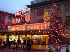 Shopping at the Pike Place Market