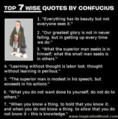 Confucius Quotes | Wise Words that Sound Good to Me! Description from pinterest.com. I searched for this on bing.com/images
