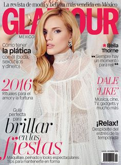 Glamour Mexico December 2015, Bella Thorne