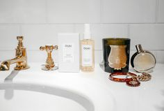 Turn your bathroom into your OUAIsis! Your bathroom is about to look très chic.