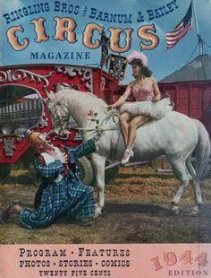 RBBB: Circus Program 1944