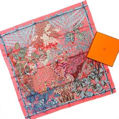 Just in- #Hermes scarf! #HermesScarf #designerresale #colorful #prints #shopping #dressraleighnc Call to order or consign 919.699.6505!