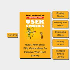 #MindMap Fifty Quick Ideas To Improve Your #UserStories