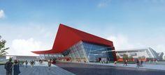 Architect: Qingdao Exhibition Center / NBBJ