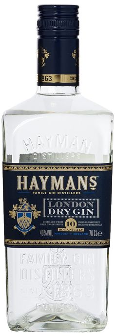 Hayman 's London Dry Gin x l) Gin Joint, Gin Tasting, London Dry Gin, Gin Bottles, Chocolate Shop, Wine And Beer, Gin And Tonic, Beer Brewing, Geneva
