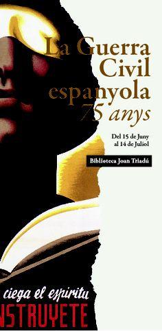 Projecte realitzat per a la Biblioteca Joan Triadú de Vic en el marc de les conferències dedicades a la Guerra Civil Espanyola.