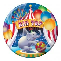 Find the perfect tableware for your circus party at Party Blvd in Asheville, NC!