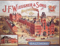 historic baltimore breweries | Baltimore History Bits