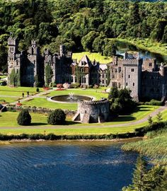 Ashford Castle in County Mayo, Ireland.  I'd love to go back and stay for more than one night