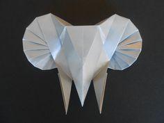 "Origami ""Elephant Head"" (Tomoko Fuse)"