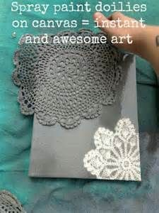 Simple Canvas Painting Ideas - this would be great for fabric totes made from plain fabric in my stash