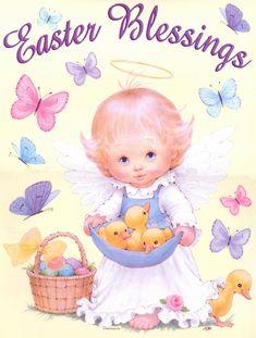 Ruth Morehead Pascua | para realizar tarjetas y manualidades | tamaño grande descargar
