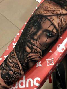 Amazing Male Tattoo Ideas To Be Inspired - Girls . - 50 Amazing Male Tattoo Ideas To Be Inspired – Girls and Faces – Amazing Male Tattoo Ideas To Be Inspired - Girls . - 50 Amazing Male Tattoo Ideas To Be Inspired – Girls and Faces – - Chicano Tattoos Sleeve, Forarm Tattoos, Arm Sleeve Tattoos, Tattoo Sleeve Designs, Skull Tattoos, Leg Tattoos, Body Art Tattoos, Catrina Tattoo, Clown Tattoo