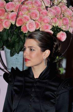 Charlotte Casiraghi Rose Ball in Monaco